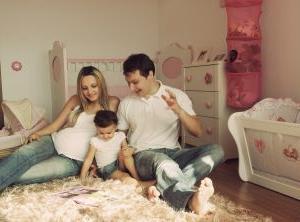 Indretning med familien